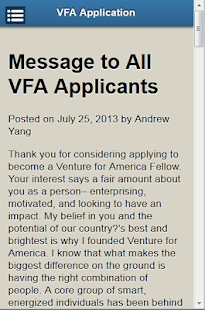 Venture for America- screenshot thumbnail