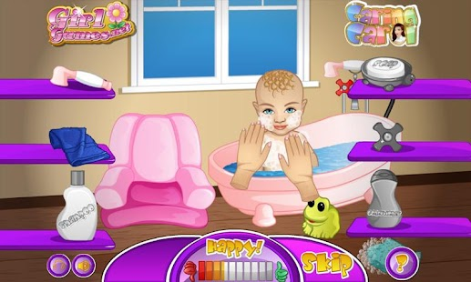 Baby Boy Caring Carol Screenshot