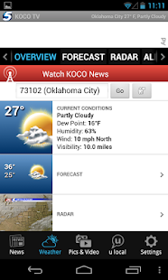 KOCO - news and weather - screenshot thumbnail
