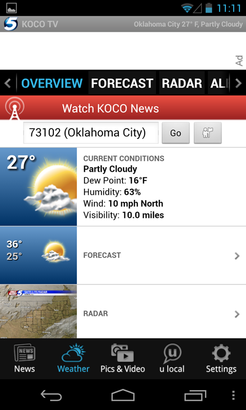 KOCO 5 News and Weather - screenshot