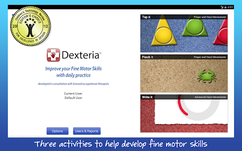 Dexteria Fine Motor/Rehab Aid Screenshot 16