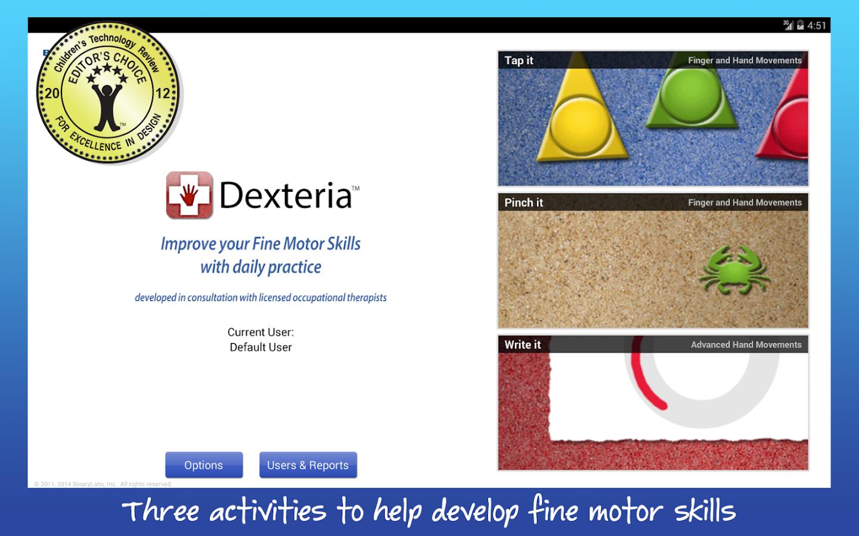 Dexteria VPP Fine Motor Skills - screenshot