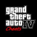 Grand Theft Auto 4 Cheats icon