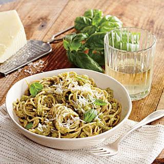 Broccoli and Pecorino Pesto Pasta