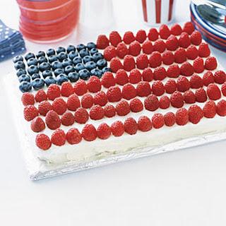 Grand Old Flag Cake