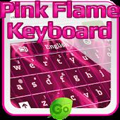 Pink Flame Keyboard