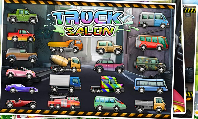 Truck Wash - Kids Game- screenshot