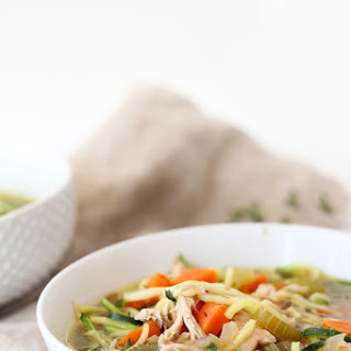 The Best Chicken Zucchini Noodle Soup, Ever!.