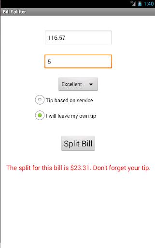 玩財經App|Bill Splitter免費|APP試玩