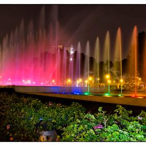 Agua & Musica by Fico Stein Montagne - City,  Street & Park  Fountains ( water, chorros de agua, agua, fountain, water figures, nikon d7000,  )