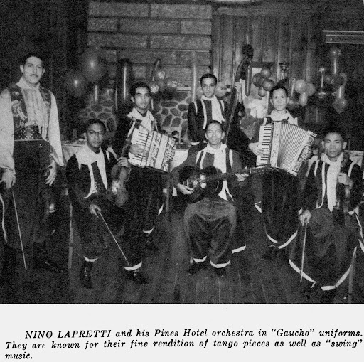 Pines Hotel Orchestra, 1938