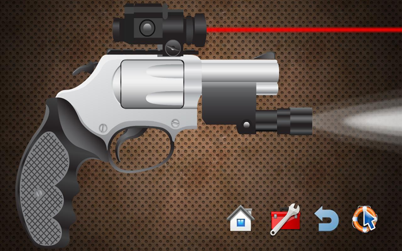 FREE Virtual Gun 2 Weapon App - screenshot