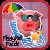 Piggy Roll Puzzle Lite
