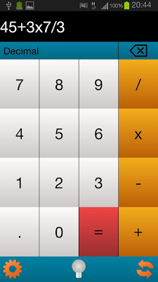 Binary Calc / Converter - screenshot