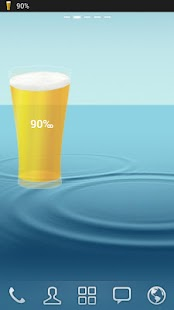 Beer Battery Widget - screenshot thumbnail