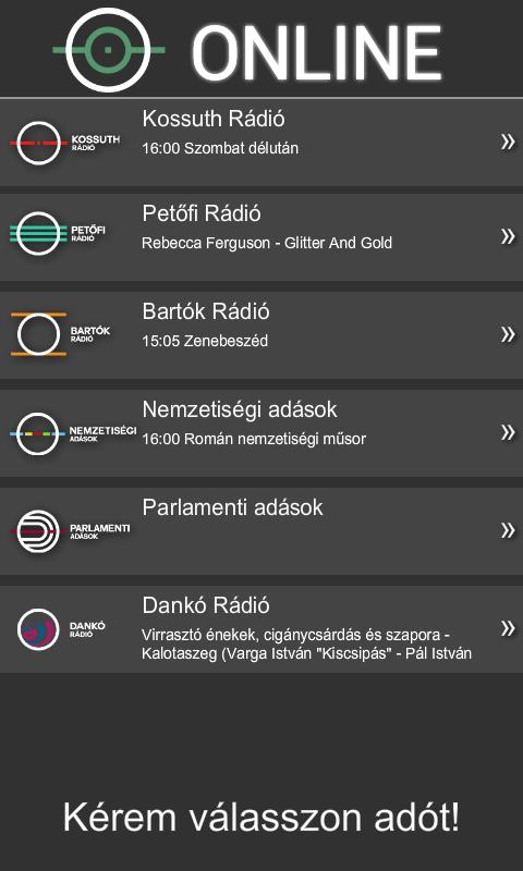 Magyar Rádió Hangtár - AIR - screenshot