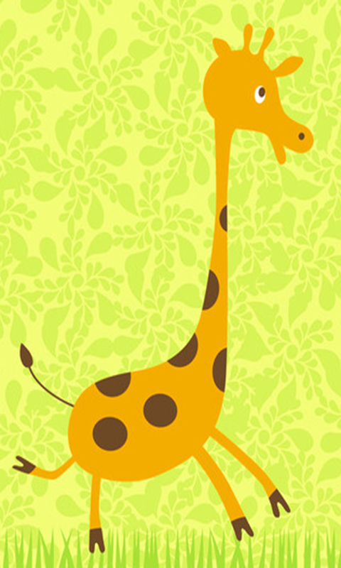 Maggic Ripple - 3D Giraffe LWP - screenshot