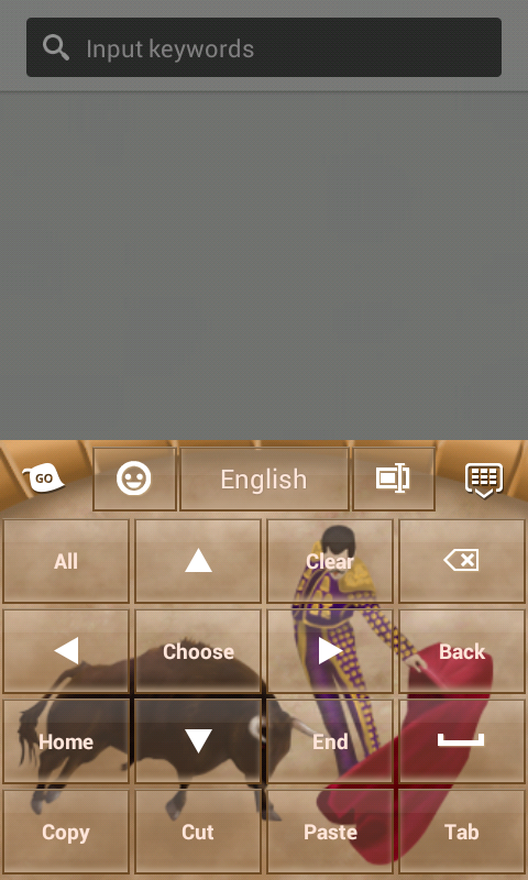 Spain Keyboard - screenshot
