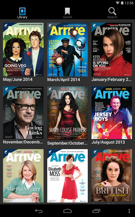 Arrive Magazine- screenshot