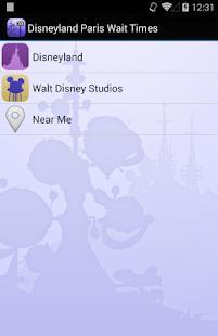 Disneyland Paris Wait Times - screenshot thumbnail