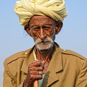 Trader of Puskar by Kaushik Dolui - People Portraits of Men ( people )