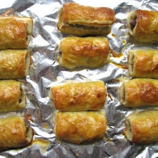 Sausage Rolls (British-style Pigs In a Blanket).