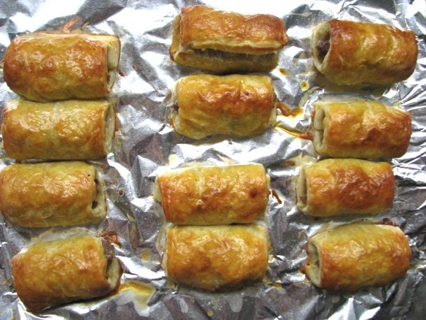 Sausage Rolls (British-Style Pigs in a Blanket) Recipe