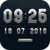 CANCUN Digital Clock Widget