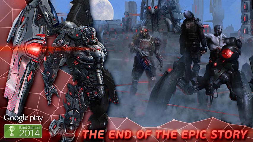 android Evolution: Battle for Utopia Screenshot 16
