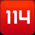 114 logo