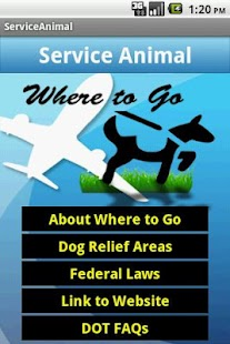 Service Animal Airport Guide- screenshot thumbnail