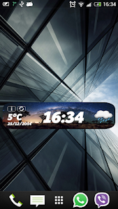 Awesome Weather Clock Widget screenshot 2