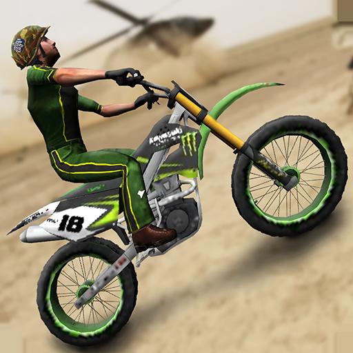 Army Trial Bike 3D