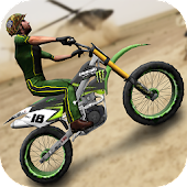 Army Trial Bike 3D
