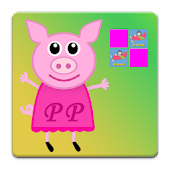 Peppa Pink Kids Memory Puzzle