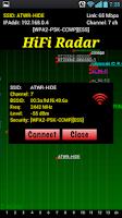 Screenshot of HiFi Radar