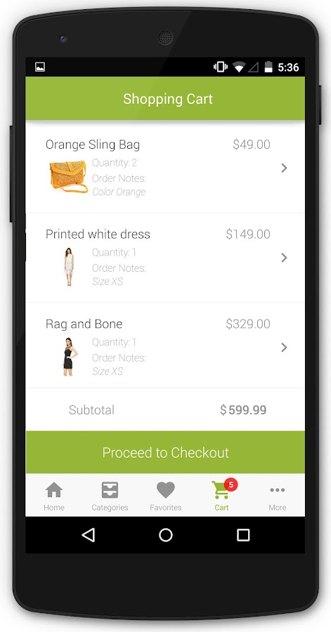 Apptuse: Mobile App for Stores - screenshot