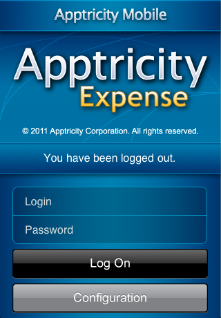 Apptricity Expense 6.1