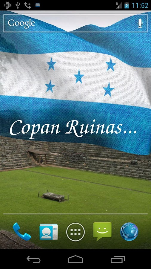 3D Honduras Flag LWP + - screenshot