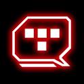 Legacy Red Glow Go SMS Theme logo