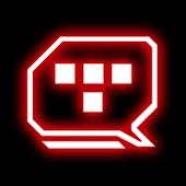 Legacy Red Glow Go SMS Theme