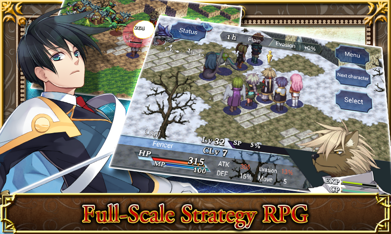 SRPG Legend of Ixtona- screenshot