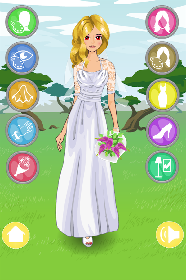 Brides dress up games android apps on google play