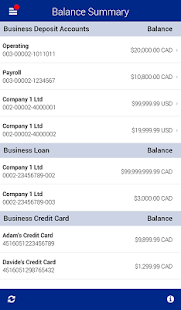 RBC Express Business Banking - screenshot thumbnail