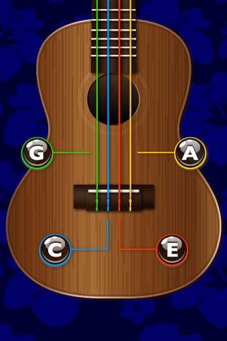Ukulele Tuner- screenshot