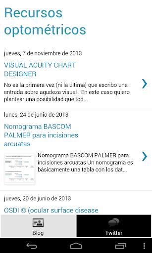 Recursos Optométricos