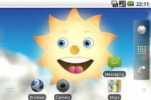 Screenshot of SunMoon Live Wallpaper
