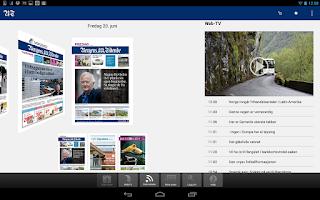 Screenshot of BT eAvis