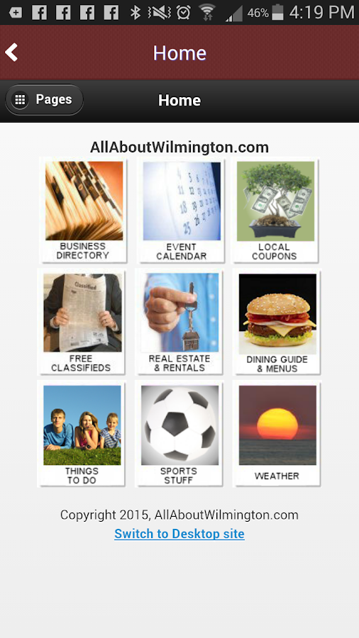 All About Wilmington- screenshot