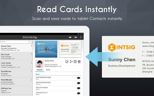 CamCard Free - Business Card R - screenshot thumbnail